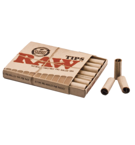 Raw filtros Pre Rolled